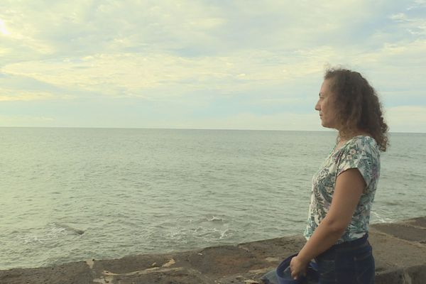 portrait d'une femme atteinte du cancer