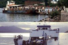La barge d'hier et de nos jours.