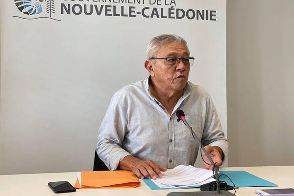 Yannick Slamet, porte-parole du gouvernement, le 2 septembre 2021.