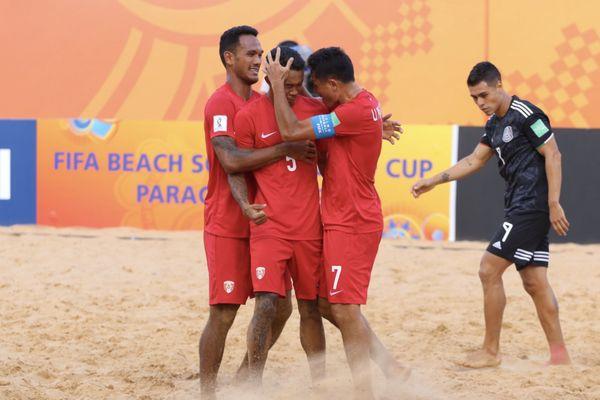 Tiki TOa Coupe du Monde Paraguay