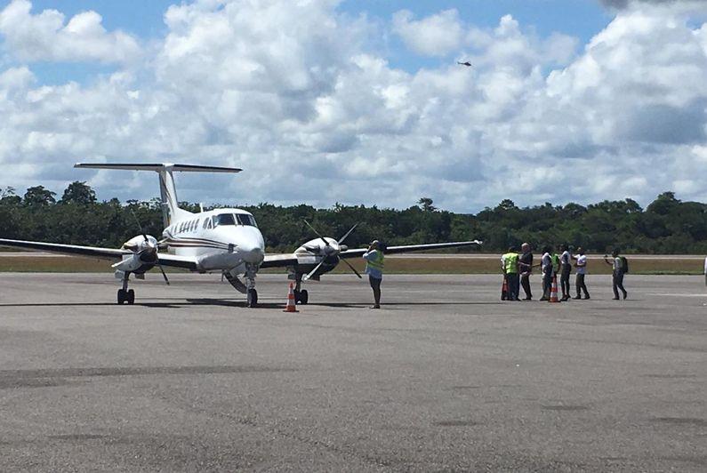 Guyane Aéro Transport démarre sa desserte de l'ouest guyanais