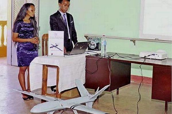 Drone fabriqué par des étudiants en Polytechnique à Madagascar 5 nov 2020