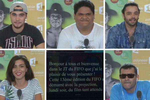 Au FIFO, jouez au présentateur télé de Polynésie 1ère ! Jour 1