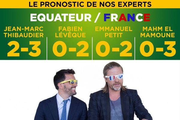France Equateur pronostic