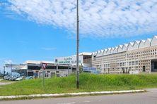 Le lycée Melkior et Garré à Cayenne