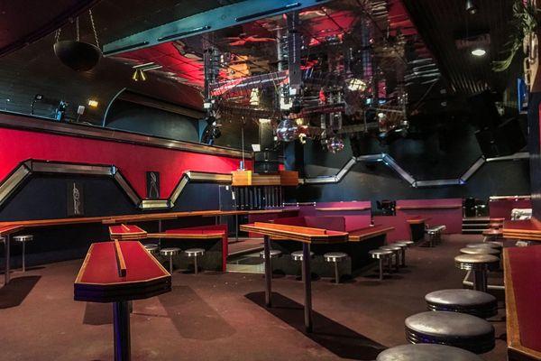 La discothèque du Joinville à Saint-Pierre, fermée depuis le 15 mars.