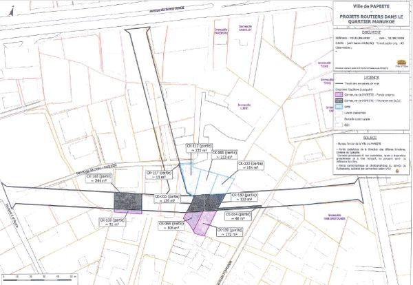 Le projet de route Manuhoe dérange les habitants de ce quartier de Papeete