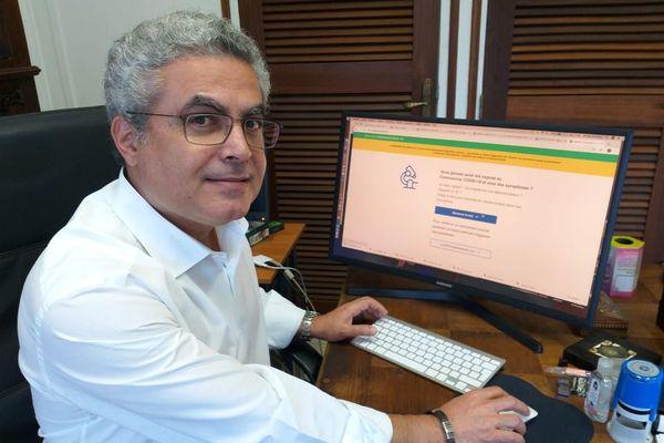 Mirdad Kazanji directeur de l'Institut Pasteur