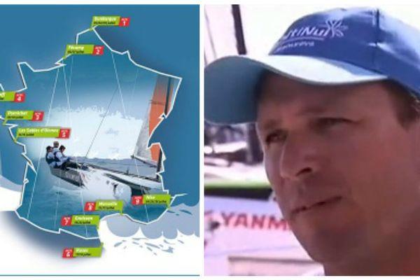 Le skipper Teva Plichart prépare le Tour de France à la voile 2016
