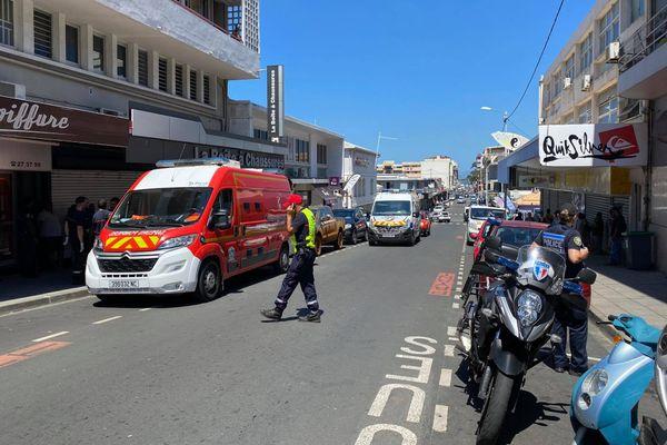 Malaise mortel sur la voie publique dans le centre-ville de Nouméa