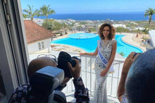 Miss Réunion 2020 Lyna Boyer lendemain d'élection 011120