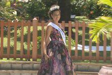 Séphora Azur, miss Martinique, élue le 24 octobre 2020 à Fort-de-France