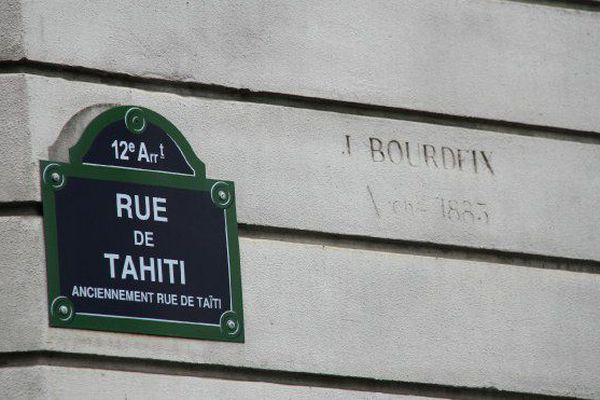 Rue de Tahiti à Paris