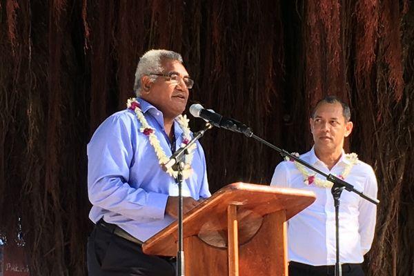 Walles Kotra pendant la cérémonie d'ouverture du FIFO 2016