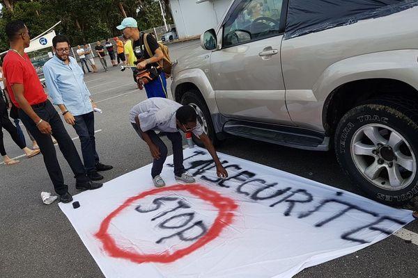 Marche contre l'insécurité