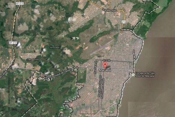 Carte google Macapa