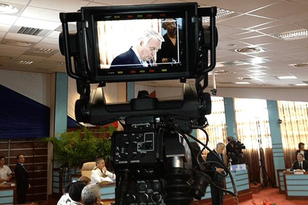 Discours au Congrès de la Nouvelle-Calédonie -1