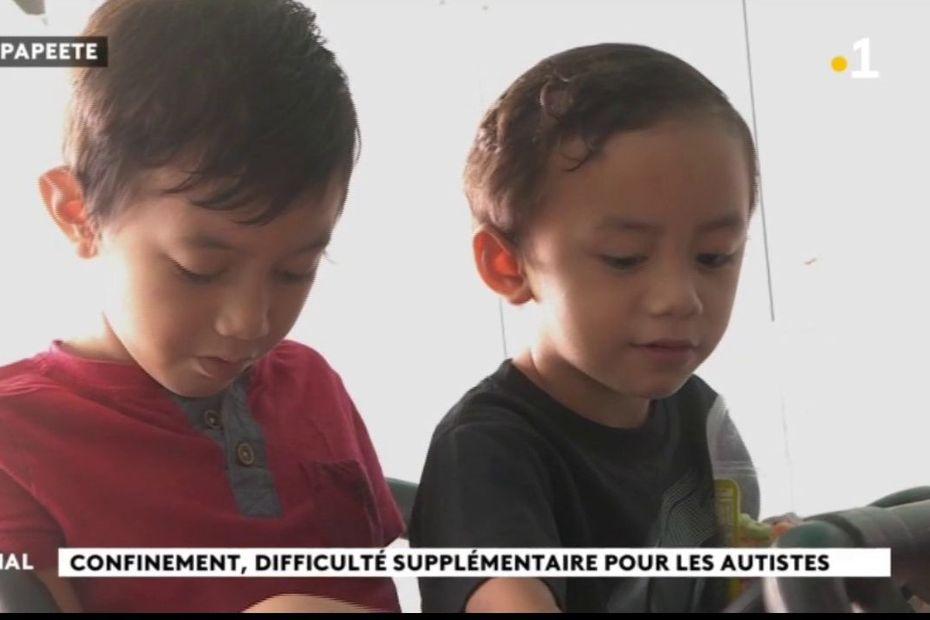 Confinement : difficulté supplémentaire pour les autistes - Polynésie la 1ère