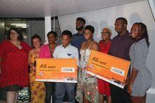 La remise des récompenses aux lauréats de la 1ere édition