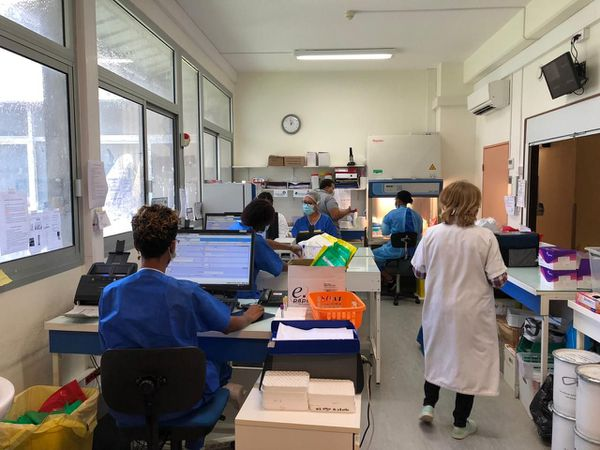 L'unité laboratoire du CHC