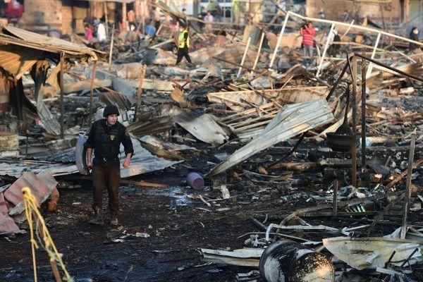 mexique mort explosion