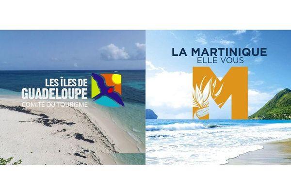 Publicité offices tourisme Guadeloupe Martinique