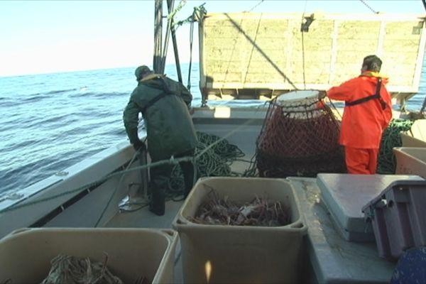 peche crabe des neiges bateau