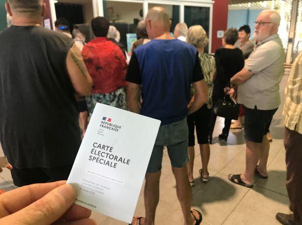 Référendum 2020, vote, file d'attente