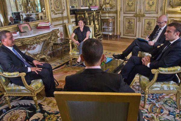 Rodolphe Alexandre reçu à l'Elysée le 26 juin par Emmanuel Macron