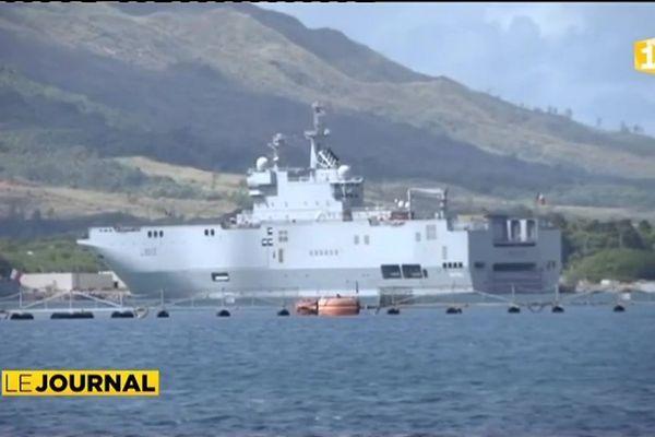 Exercice inter armées à Guam