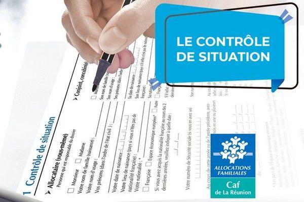 CAF Caisse d'Allocations Familiales de La Réunion contrôles fraude 231120