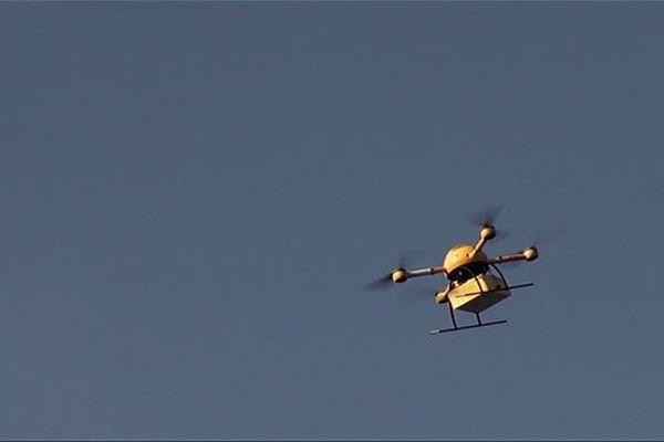 médicaments livrés par drones