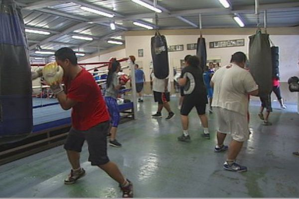 Du sport pour maigrir - boxe