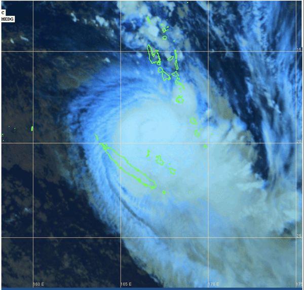 Vue satellite de Hola à 23 heures vendredi 9 mars