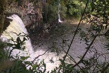 Bassin La Paix, dans l'Est de La Réunion.