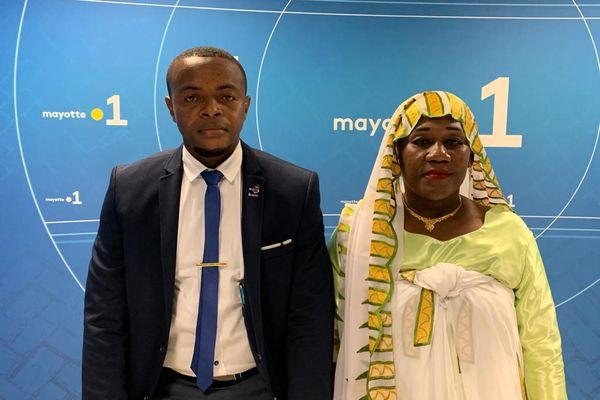 Adidja Yssoufou et Amine Djamael ouangani