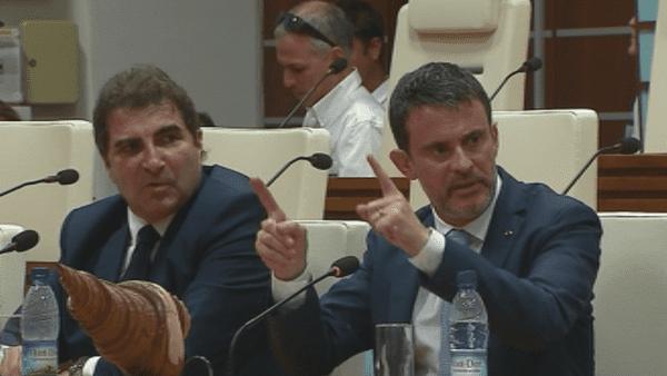 Débat Congrès Valls Jacob
