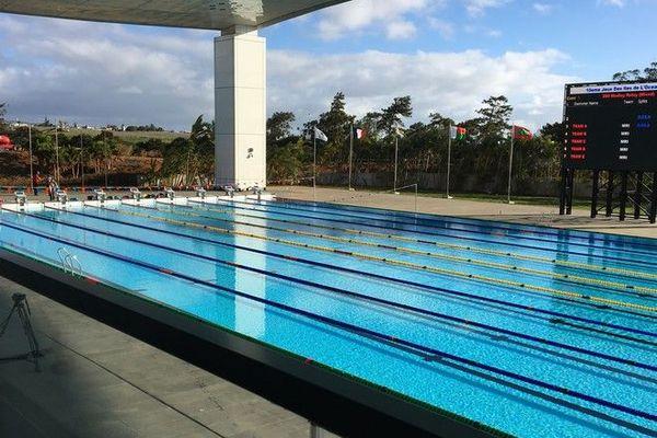 JIOI 2019 : piscine olympique du complexe sportif de Côte d'Or