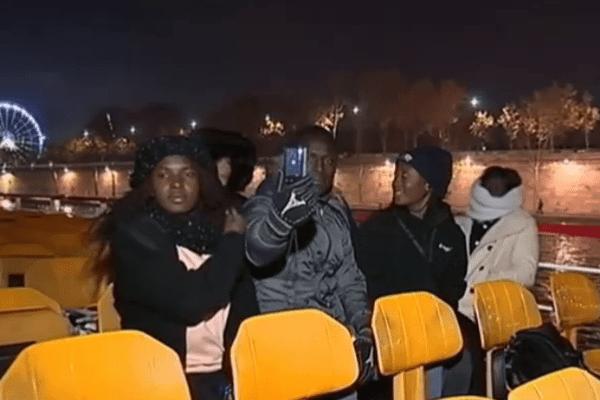 Jeunes guyanais à Paris