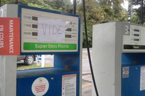 Penurie d'essence sur la côte Est