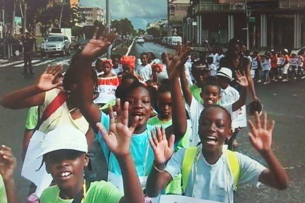 Marche pour les droits de l'enfant