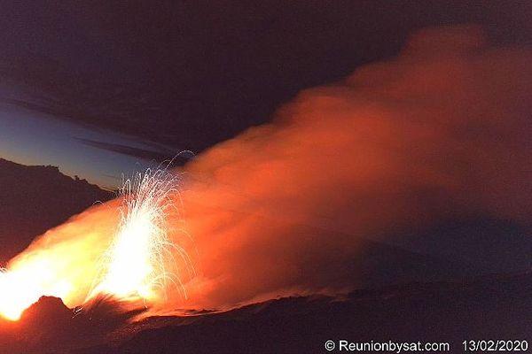 Éruption de la Fournaise 13 février 2020