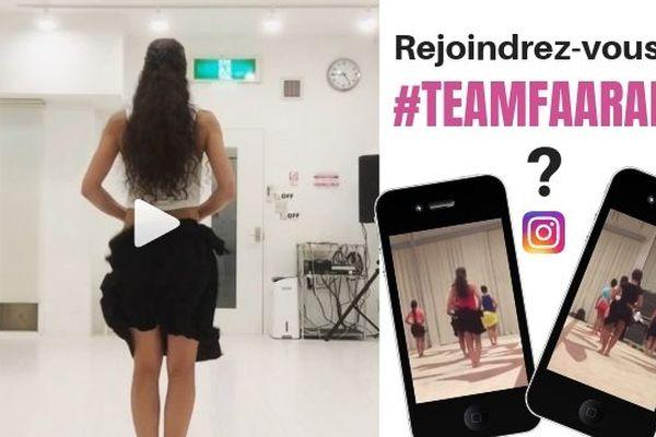 """Un """"faarapu challenge"""" sur Instagram"""