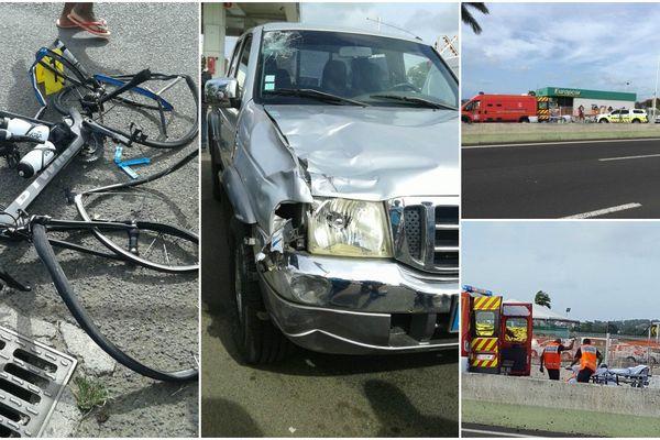 Accident vélo/voiture