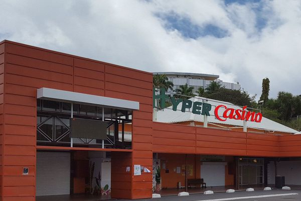 Hypermarché Casino Desmarais