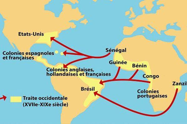 La route de l'esclavage