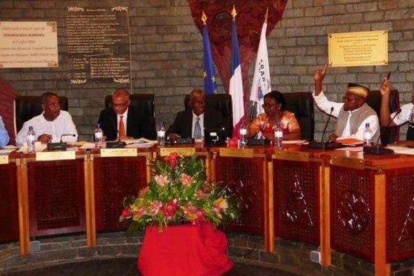 Vote au conseil départemental