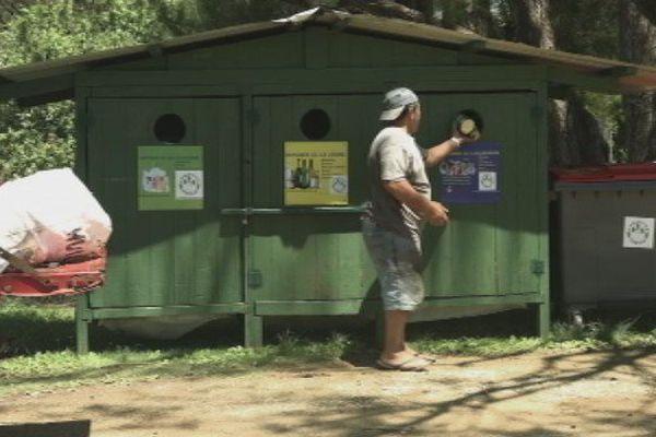 Collecte d'ordures à Tubuai