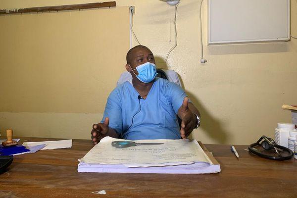Said Junior, médecin chef du district de Hambou