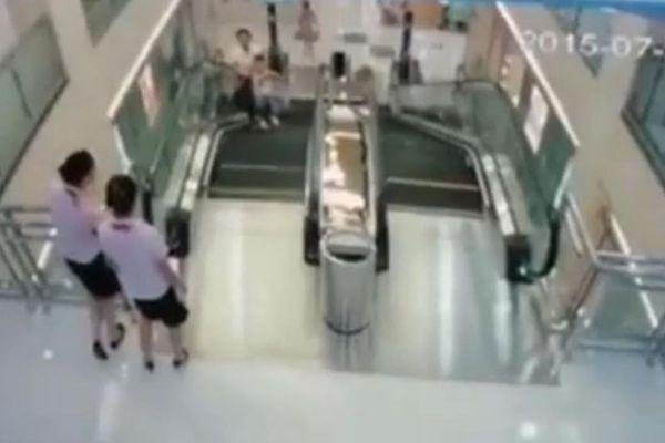 Chine : une femme meurt broyée dans un escalator